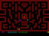 Muncher! ZX Spectrum Passing level 5.