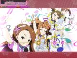 The iDOLM@STER: Shiny Festa - Harmonic Score iPad The music video shifts into traditional animation.