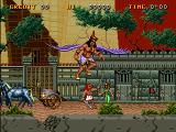 Big Karnak Arcade Intro: as soon as Karnak parks his chariot a purple winged giant swoops down and carries Cleopatra away because that's the kind of thing that happened a lot in ancient Egypt