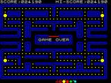 Pac-Man ZX Spectrum A game over with a whistle.