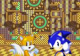 SegaSonic Popcorn Shop Arcade Sonic and Tails appear.