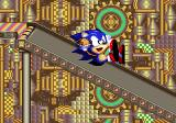 SegaSonic Popcorn Shop Arcade Once Sonic escapes, he goes down the popcorn chute.
