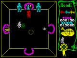 Atic Atac ZX Spectrum Quasimodo. Weak to claw.