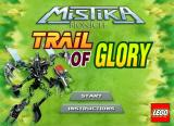 BIONICLE Mistika: Trail of Glory Browser Title screen.
