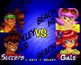V-Ball: Beach Volley Heroes PlayStation Soccers vs Gals.