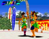 V-Ball: Beach Volley Heroes PlayStation Soccers are celebrating.
