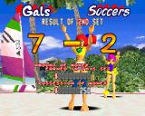 V-Ball: Beach Volley Heroes PlayStation ...however Gals won.