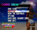 V-Ball: Beach Volley Heroes PlayStation But you can always choose Yes. Coffee Break! Let's go shopping...