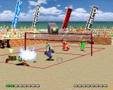 "V-Ball: Beach Volley Heroes PlayStation ""Digging is the ability to prevent the ball from touching one's court after a spike or attack."""