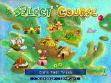 Chocobo Racing PlayStation Choose your racetrack.
