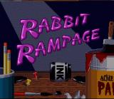 Bugs Bunny Rabbit Rampage SNES Title Screen