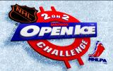 NHL Open Ice: 2 On 2 Challenge Arcade Title screen