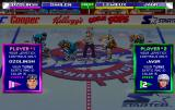 NHL Open Ice: 2 On 2 Challenge Arcade Start of the game, control scheme is presented to the players