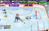 NHL Open Ice: 2 On 2 Challenge Arcade Big head mode, Sandis Ozoliņš about to score a goal
