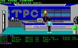 Zak McKracken and the Alien Mindbenders DOS The phone company. Nice hat, huh...? (Hi-res)