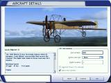 The Early Years of Flight Windows Bleriot XI - Aircraft selection menu (FSX)
