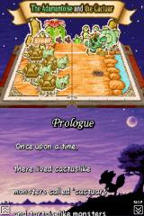Final Fantasy Fables: Chocobo Tales Nintendo DS Book prologue.