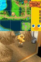 Final Fantasy Fables: Chocobo Tales Nintendo DS Chocobo found a magic card.