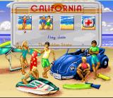 California Games II SNES Main Menu
