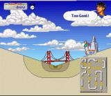California Games II SNES Skate through half pipes and tunnels