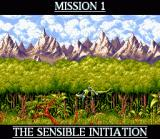 Cannon Fodder SNES Mission 1 Title