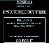 Cannon Fodder SNES Mission 1 Briefing