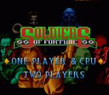 Soldiers of Fortune SNES US Title Screen