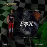 MX 2002 featuring Ricky Carmichael PlayStation 2 Starting a new career is a bit like catalogue shopping. The player picks their outfit, helmet, goggles, riding suit, and boots from a series of branded items, then they choose a name and number