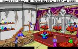 Quest for Glory II: Trial by Fire Amiga The inn in Raseir. You can sleep here only in the night.