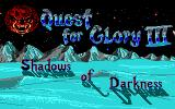Quest for Glory II: Trial by Fire Amiga Watch the end sequence to the end and you will see the incense for the third part which happened to be the fourth ;-)