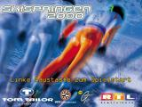 Skispringen 2000 Windows start screen