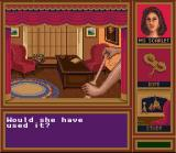 Clue SNES That conniving Miss Scarlet