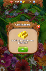 Blossom Blast Saga Android A free and one time gift of gold (Dutch version)