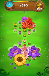 Blossom Blast Saga Android A chain reaction