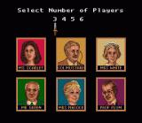 Clue SNES Supports up to six players