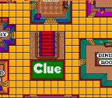 Clue SNES The game board