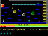 Manic Miner ZX Spectrum The Bank.