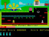 Manic Miner ZX Spectrum The Final Barrier.
