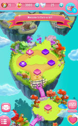 Care Bears: Belly Match Android Progress on the level map