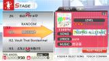 The iDOLM@STER: Shiny Festa - Harmonic Score iPhone Picking a song.