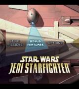 Star Wars: Jedi Starfighter PlayStation 2 This is the main menu.