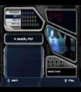 Star Wars: Jedi Starfighter PlayStation 2 Starting the game<br>The game is played in Story Mode and the game starts at Act I. There are five optional training missions and these must be manually selected