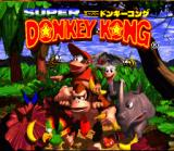 Donkey Kong Country SNES Japanese Title Screen