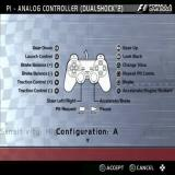Formula One 2003 PlayStation 2 The basic controller configuration. There are four to choose from and none of them can be customised