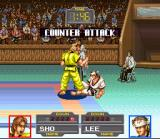 Taekwon-Do SNES A counter attack!