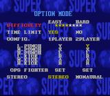 Super Street Fighter II SNES Options
