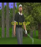 Tiger Woods PGA Tour 2001 PlayStation 2 That's not a bad shot!<br>Pity it's my opponent who made it