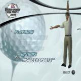 Tiger Woods PGA Tour 2002 PlayStation 2 The main menu. Much of the game is locked until the player completes the tutorial
