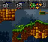 Norse by Norse West: The Return of the Lost Vikings SNES Plants will constantly grow back to hurt you in the jungle