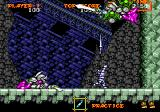 Ghouls 'N Ghosts Genesis Climbing the Baron Rankle's Tower